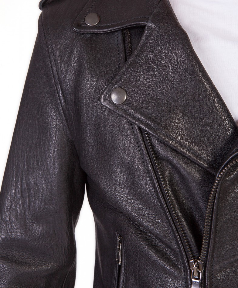 men-s-leather-jacket-perfecto-flaps-on-shoulder-genuine-soft-lamb-leather-wizened-black-color-clou- (1)