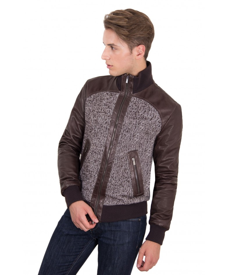 men-s-leather-jacket-style-bomber-wool-parts-and-zip-pockets-color-dark-brown-u402