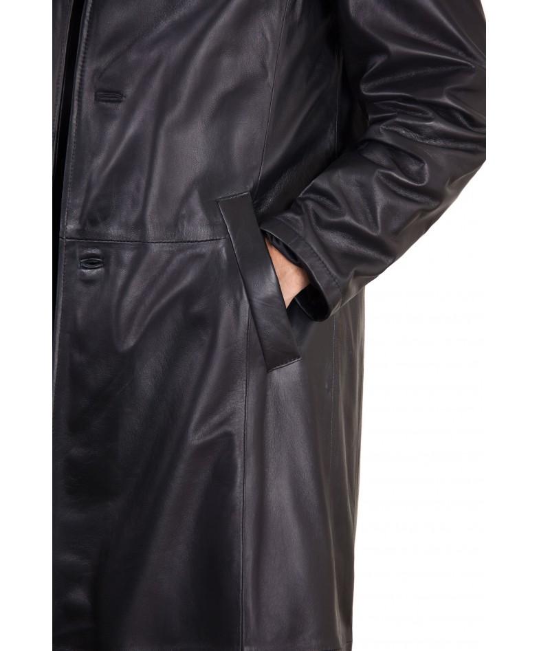 men-s-long-leather-coat-genuine-soft-leather-2-pockets-buttons-closing-black-color-2299-matrix (1)