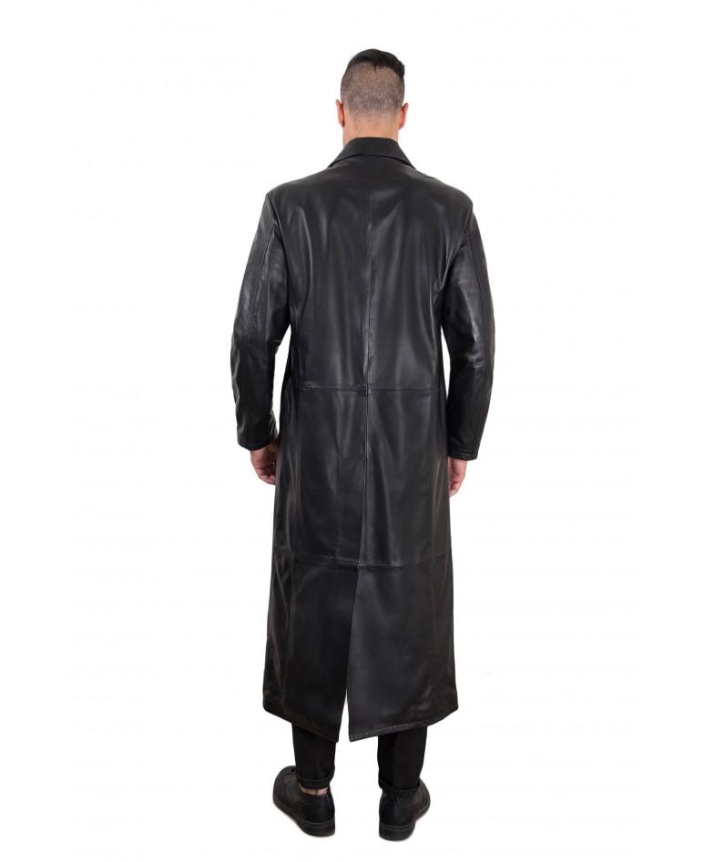 men-s-long-leather-coat-genuine-soft-leather-2-pockets-buttons-closing-black-color-2299-matrix (2)