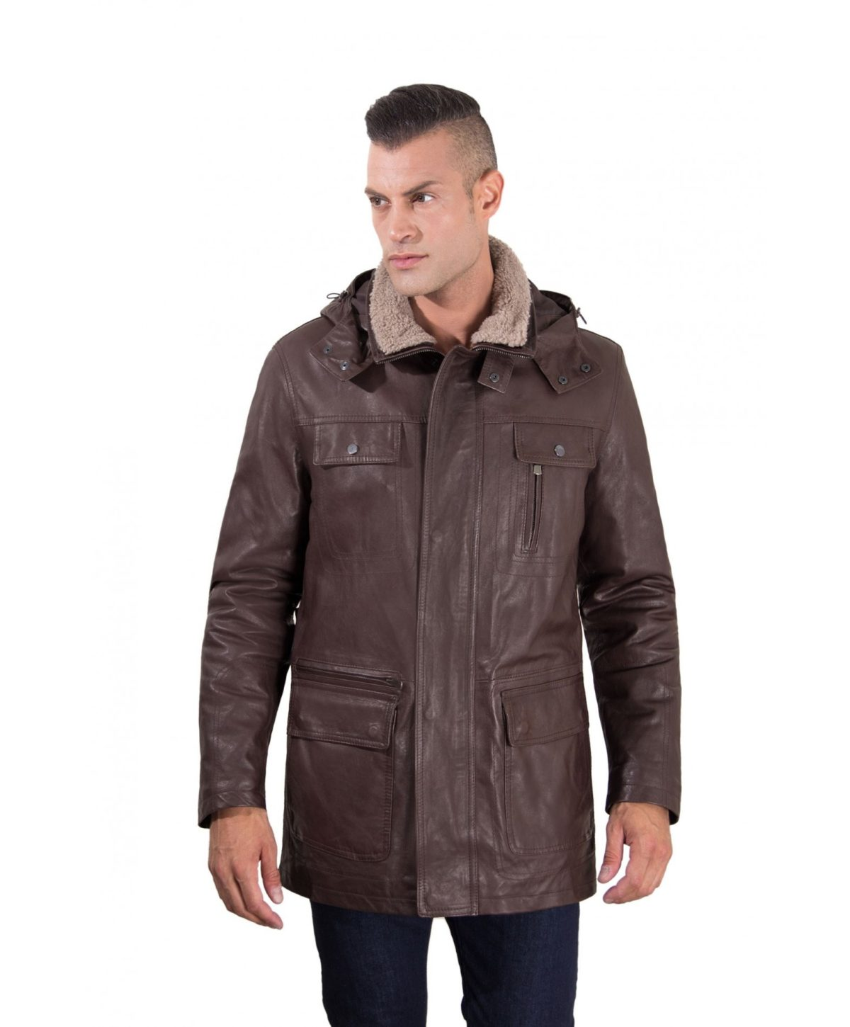men-s-long-leather-coat-genuine-soft-leather-5-pockets-detachable-hood-buttons-and-zip-closing-dark-brown-color-mod-vittorio