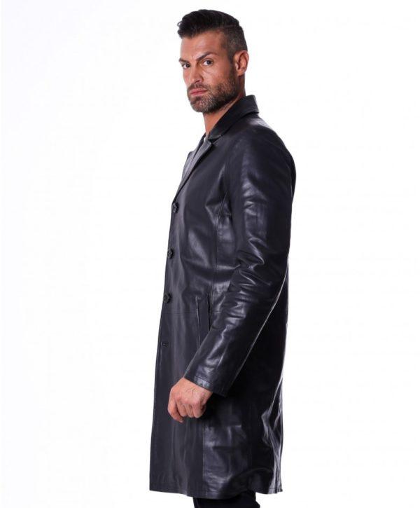 men-s-long-leather-jacket-genuine-soft-leather-2-pockets-buttons-closing-black-color-mod-032-matrix (2)