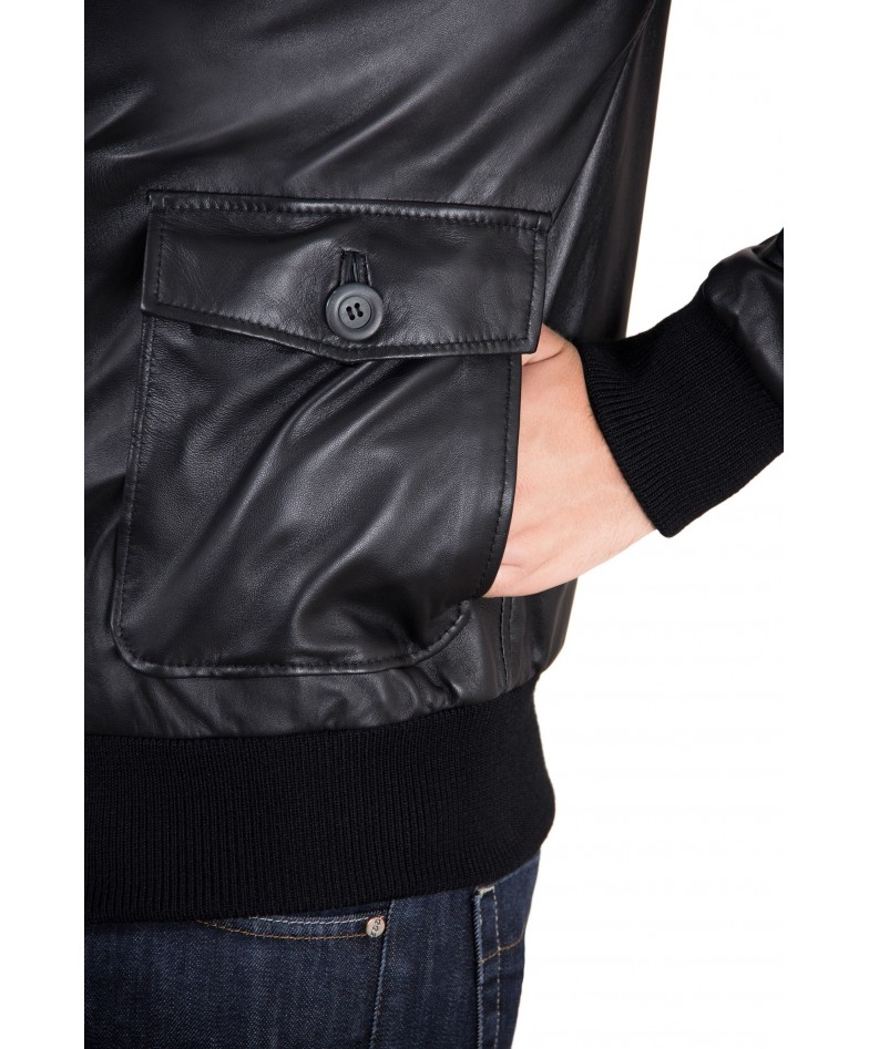 mens-leather-jacket-with-2-front-pockets-and-button-closing-black-color-alex (1)