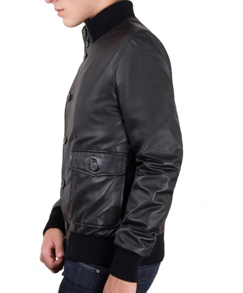 mens-leather-jacket-with-2-front-pockets-and-button-closing-black-color-alex (3)
