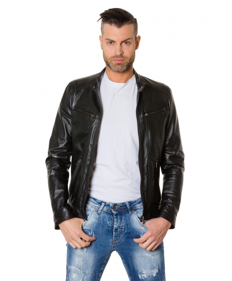 roberto-black-colour-lamb-leather-jacket-smooth-aspect (1)