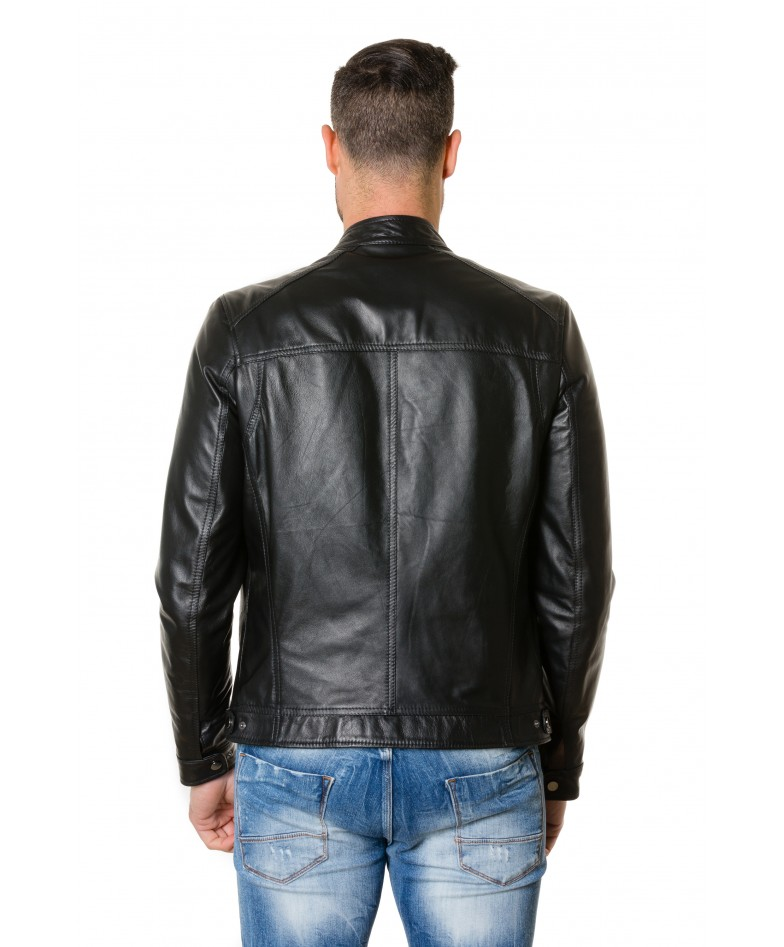 roberto-black-colour-lamb-leather-jacket-smooth-aspect (3)