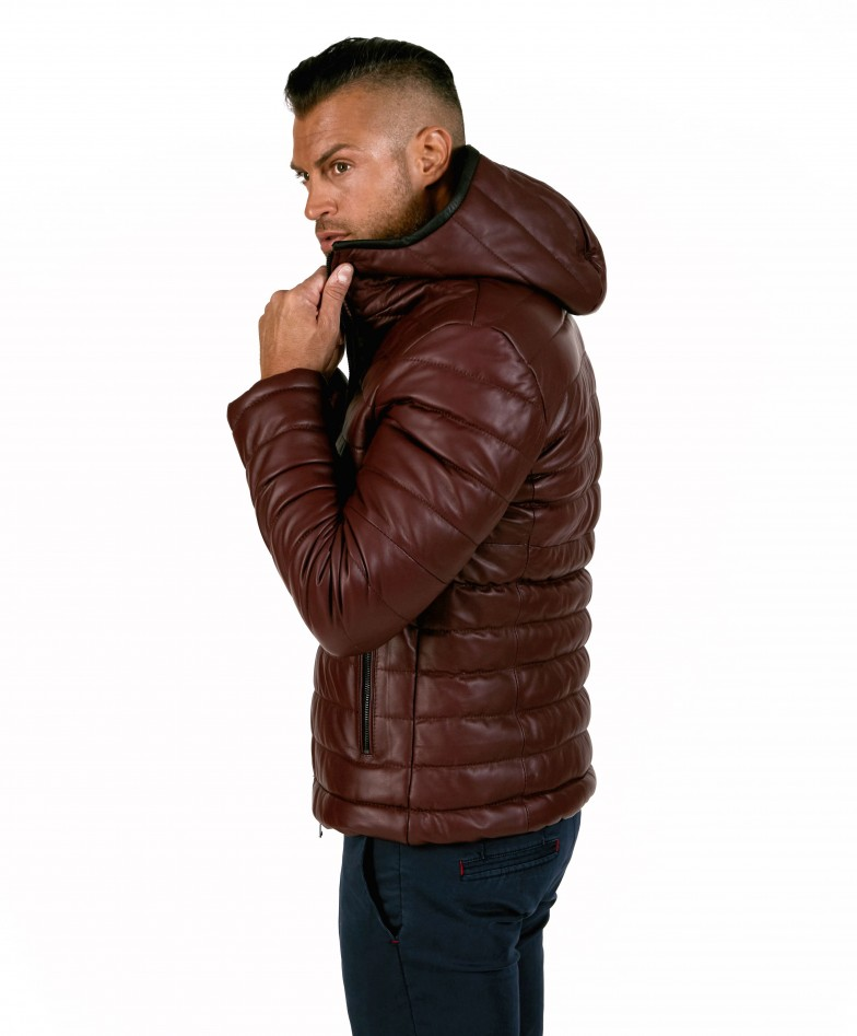 teo-red-purple-color-nappa-lamb-leather-hooded-down-jacket (1)