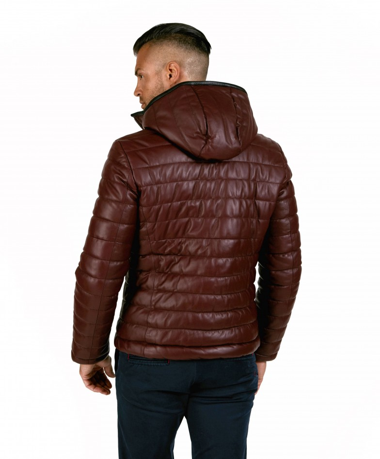 teo-red-purple-color-nappa-lamb-leather-hooded-down-jacket (2)