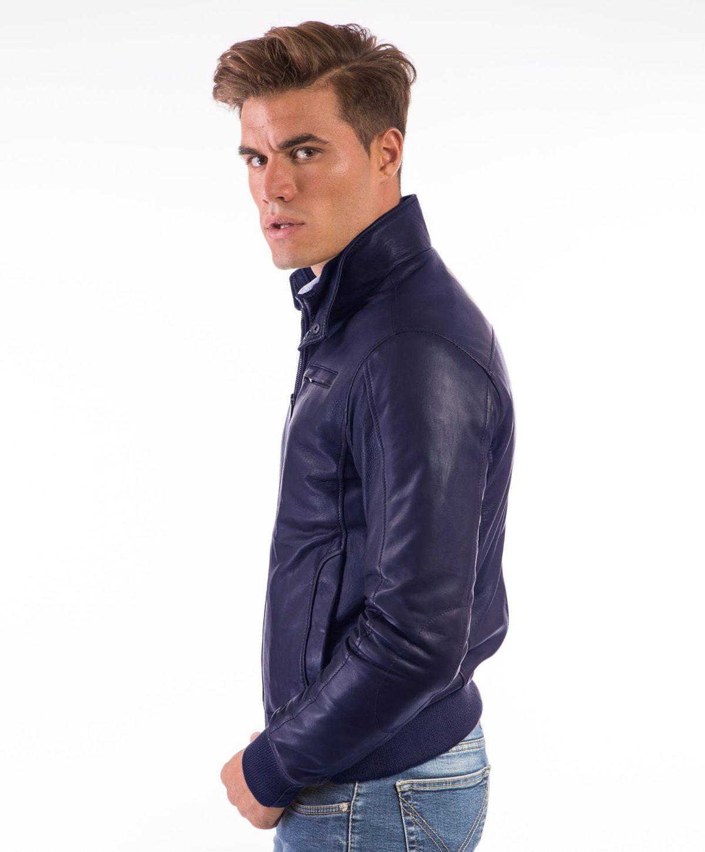 thin-blue-lamb-leather-bomber-jacket (1)