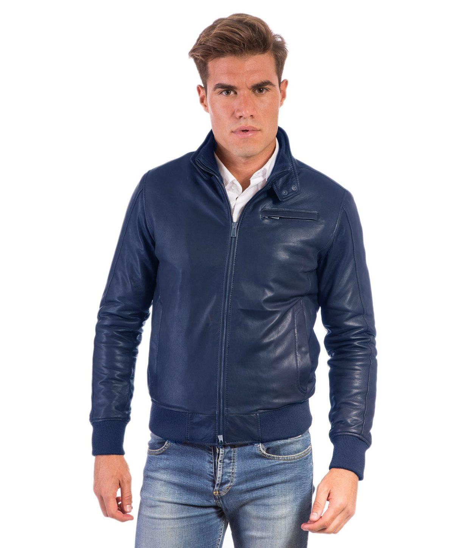 thin-blue-lamb-leather-bomber-jacket (2)