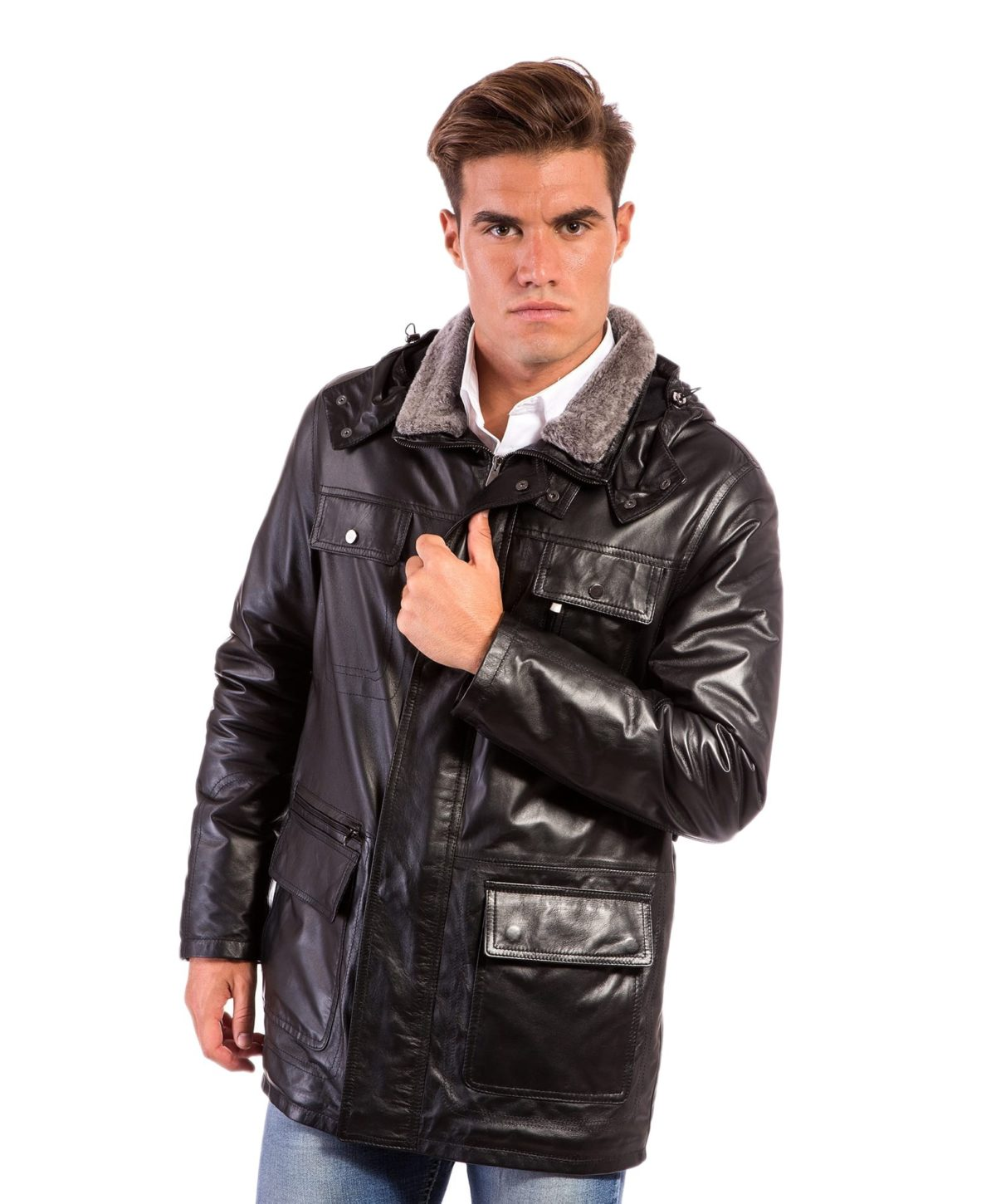 vittorio-black-colour-man-leather-hooded-coat (4)