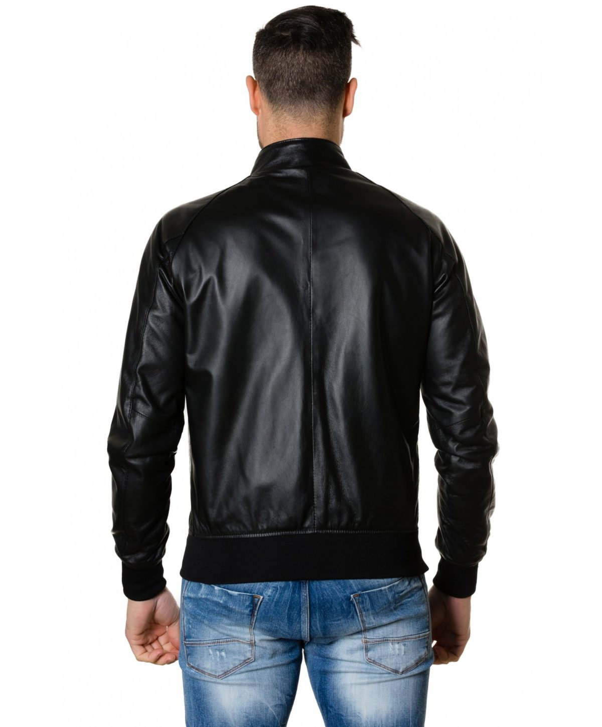 1066-black-colour-leather-bomber-jacket-smooth-aspect (3)