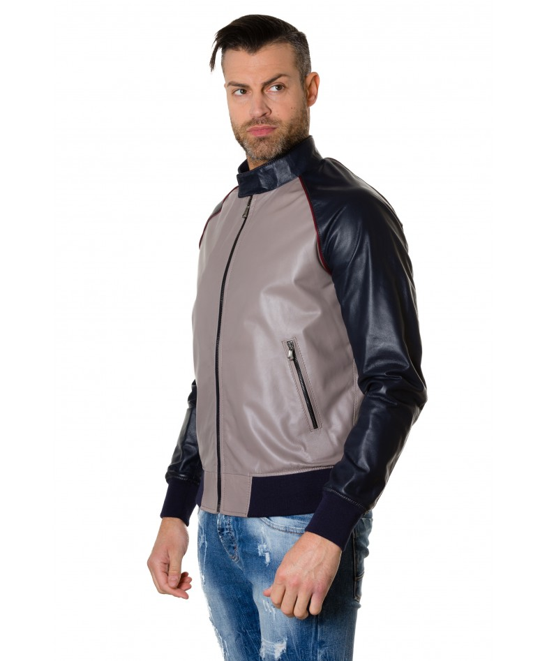 1066-greyblue-colour-leather-bomber-jacket-smooth-aspect (3)