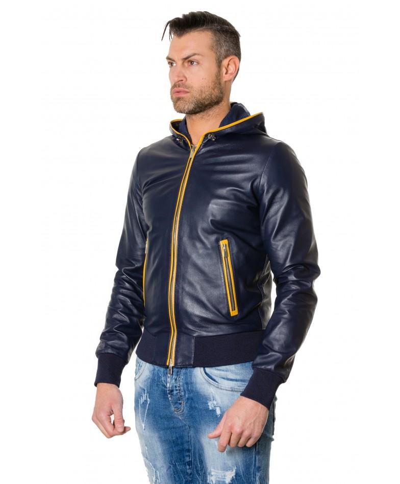 biancolino-blueyellow-colour-lamb-leather-hooded-jacket-smooth-aspect (3)