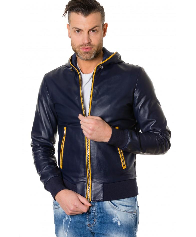 biancolino-blueyellow-colour-lamb-leather-hooded-jacket-smooth-aspect (4)