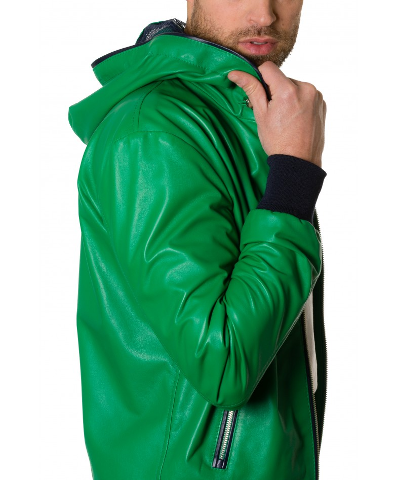 biancolino-greenblue-colour-lamb-leather-hooded-jacket-smooth-aspect (1)