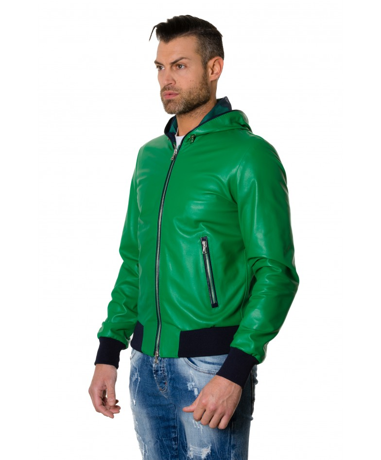 biancolino-greenblue-colour-lamb-leather-hooded-jacket-smooth-aspect (2)