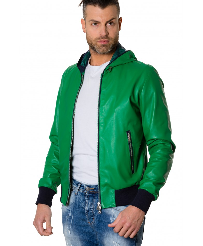 biancolino-greenblue-colour-lamb-leather-hooded-jacket-smooth-aspect (3)