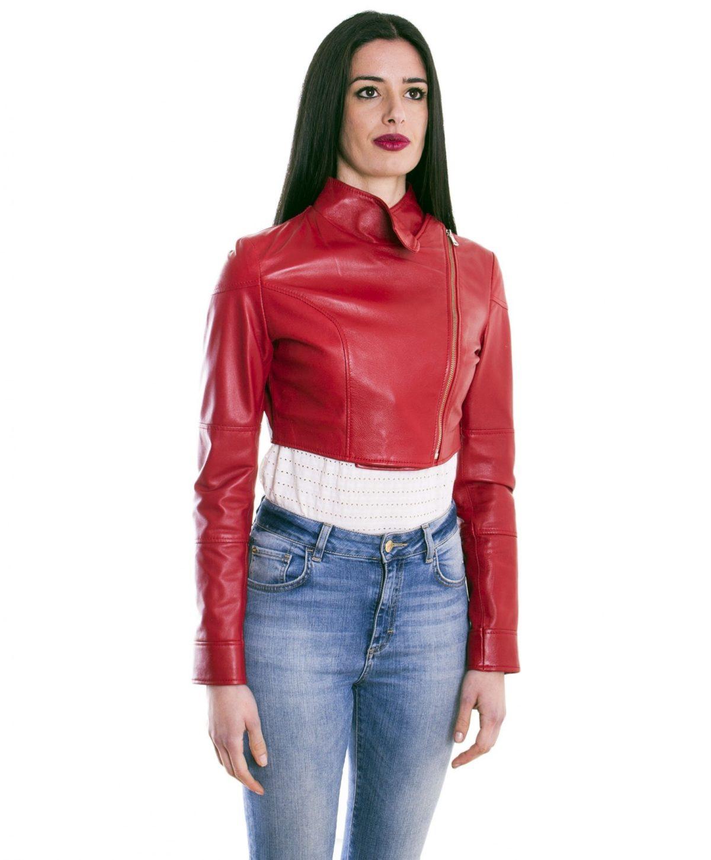bolero-in-pelle-donna-rosso-fiamma (3)