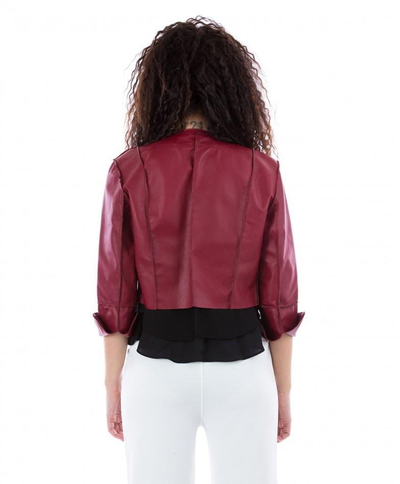 bolero-in-pelle-donna-rosso-mesia (4)