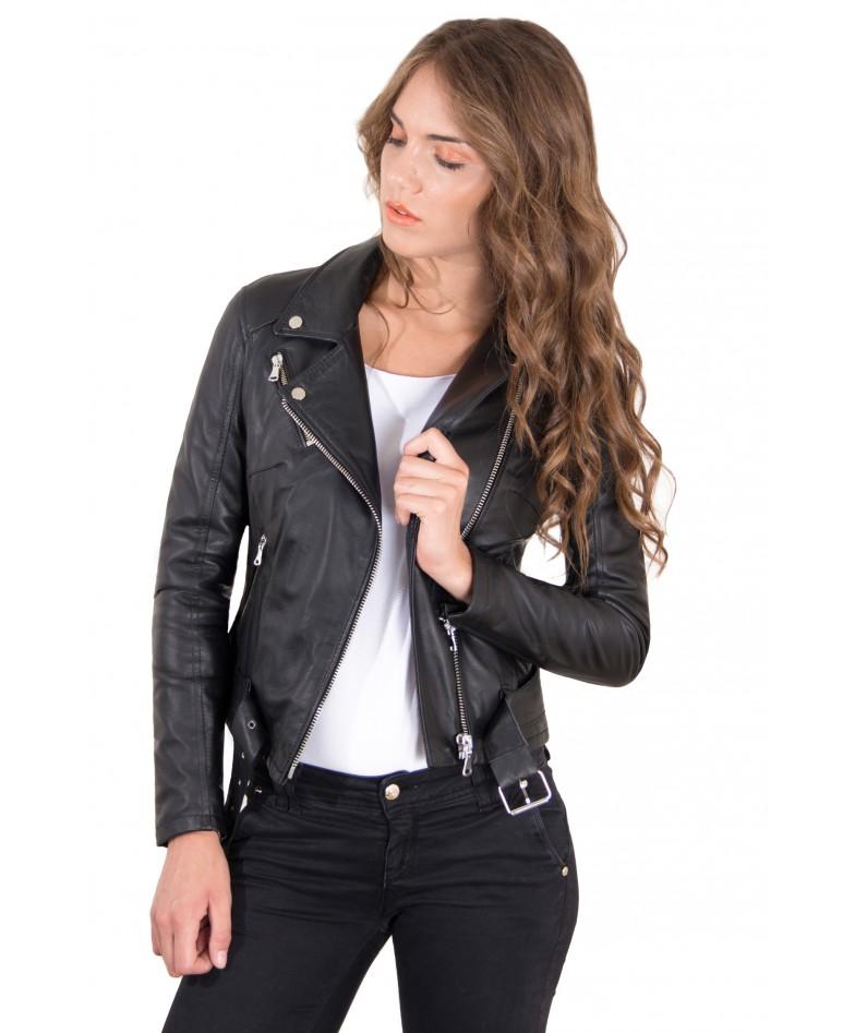 chiodo-in-pelle-da-donna-modello-biker-con-cintura-colore-nero-chiodo-perfecto-collezione-donna-autunno-inverno-