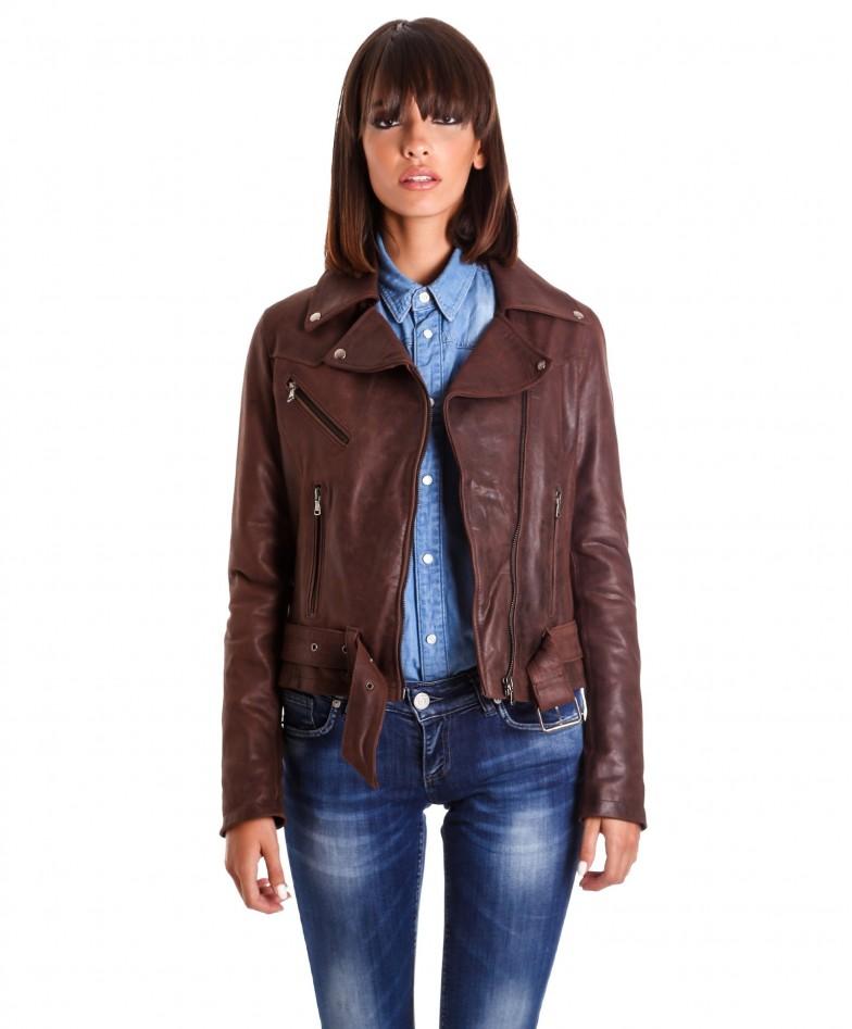 chiodo-in-pelle-donna-modello-biker-zip-trasversale-colore-marrone-nabuk-sandy (2)