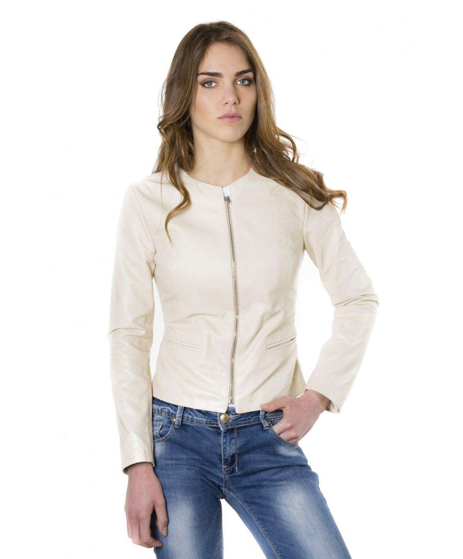clear-beige-colour-lamb-leather-round-neck-jacket