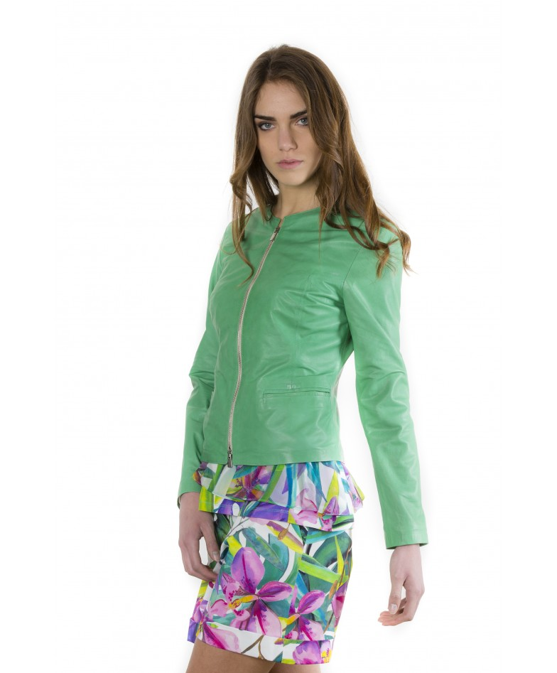 clear-green-color-lamb-leather-round-neck-jacket (2)