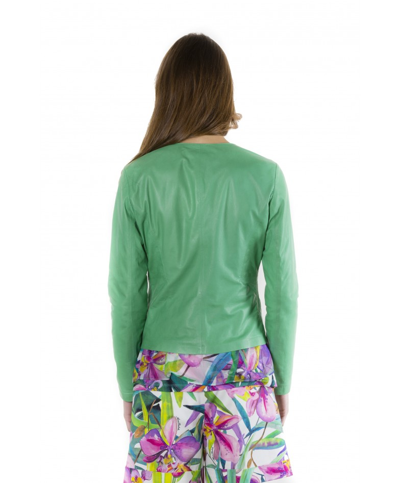 clear-green-color-lamb-leather-round-neck-jacket (3)