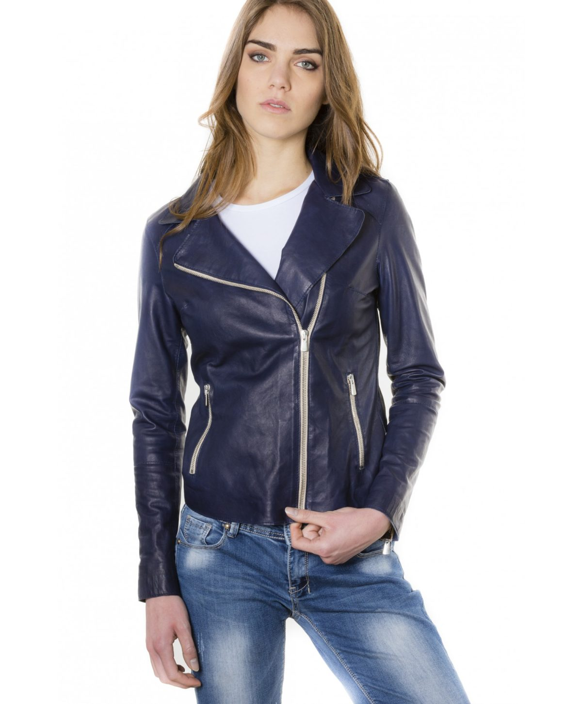 elis-blue-color-lamb-leather-jacket-vintage-effect