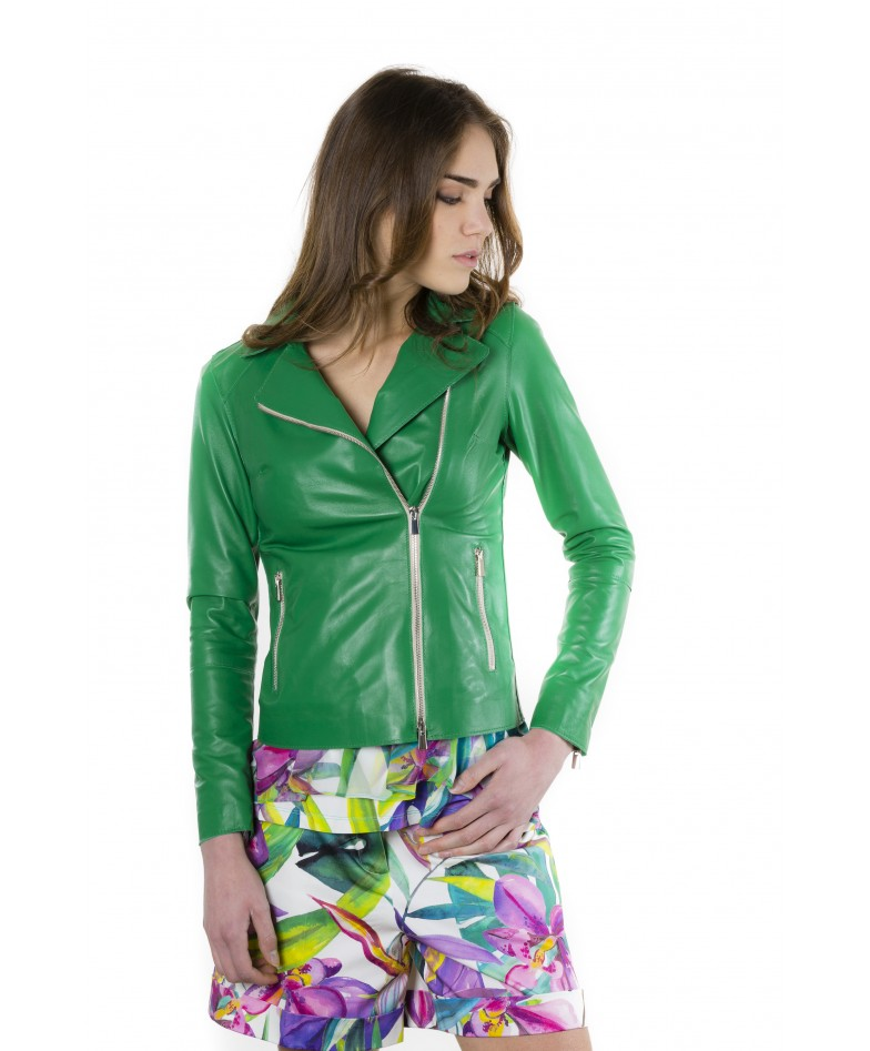 elis-green-color-nappa-lamb-leather-jacket-smooth-effect (2)