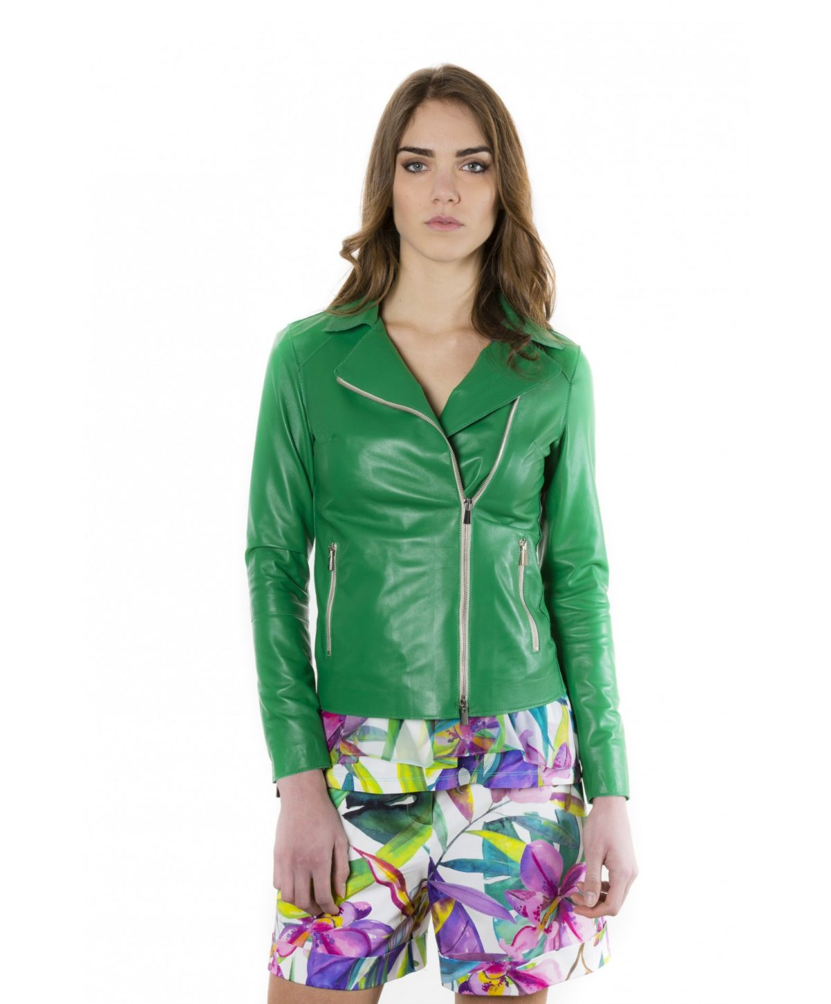 elis-green-color-nappa-lamb-leather-jacket-smooth-effect