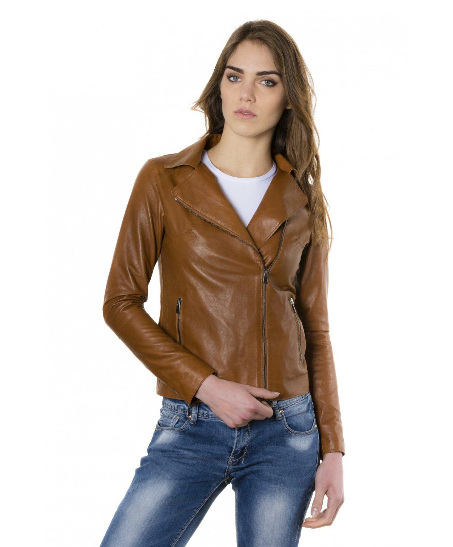 elis-tan-color-lamb-leather-jacket-vintage-effect