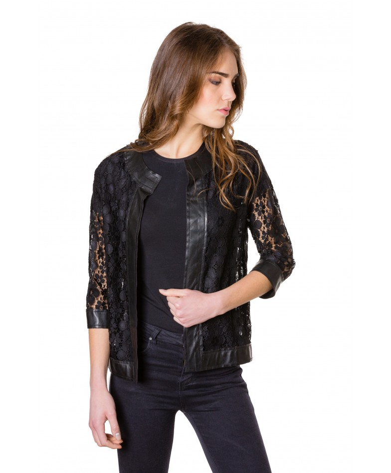 emma-pizzo-black-colour-woman-lace-jacket-with-leather-edges (1)