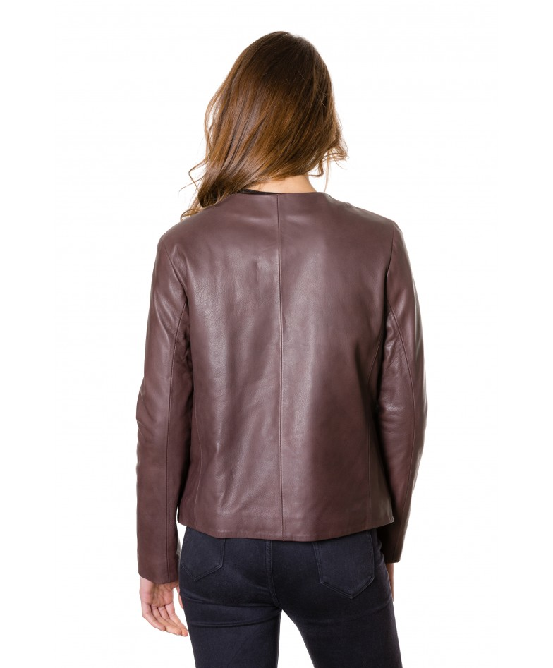 f102-black-colour-woman-lamb-leather-jacket-smooth-effect (3)