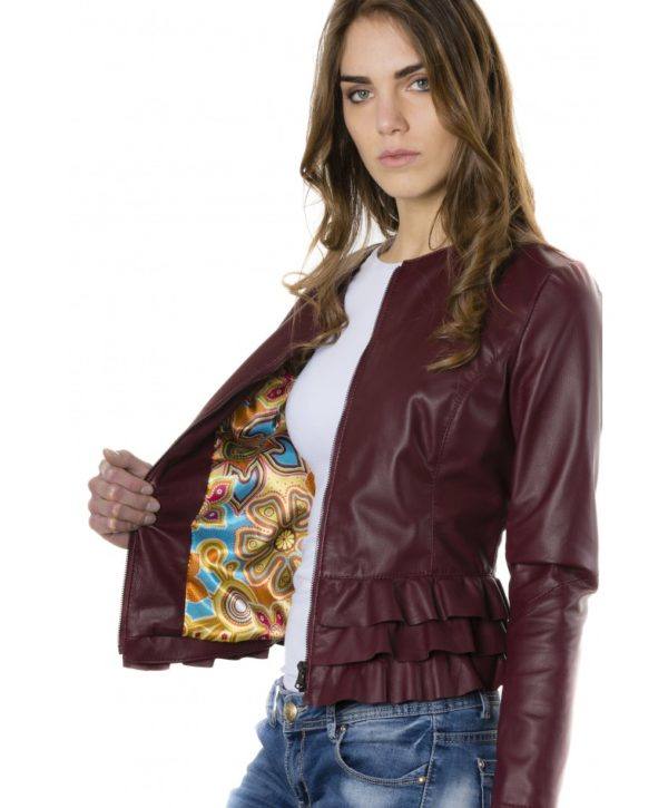 f105bl-red-purple-color-nappa-lamb-leather-jacket-with-flounces (1)
