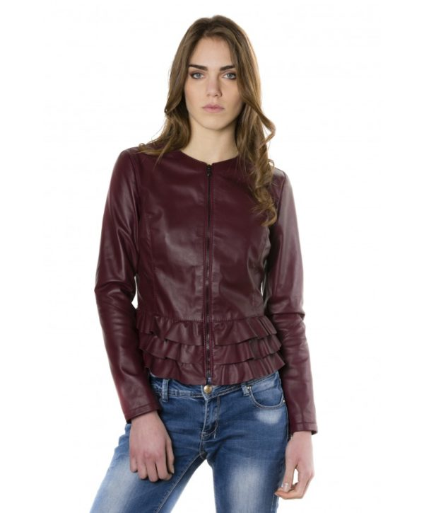 f105bl-red-purple-color-nappa-lamb-leather-jacket-with-flounces