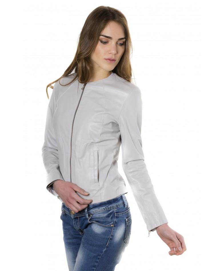 giacca-in-pelle-comfort-fit-da-donna-con-zip-centrale-e-girocollo-color-ghiaccio-p151 (2)