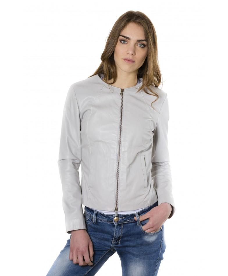 giacca-in-pelle-comfort-fit-da-donna-con-zip-centrale-e-girocollo-color-ghiaccio-p151