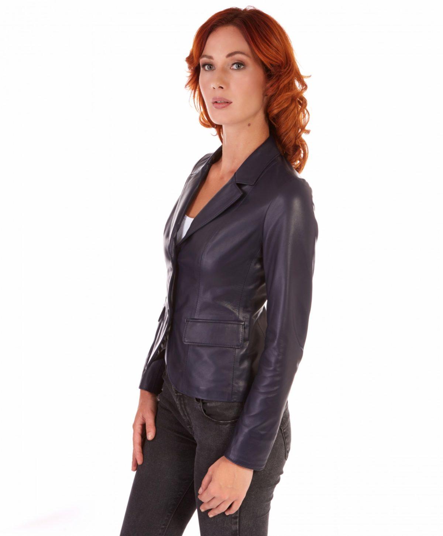 giacca-in-pelle-da-donna-modello-blazer-due-bottoni-colore-blu-blazer (2)