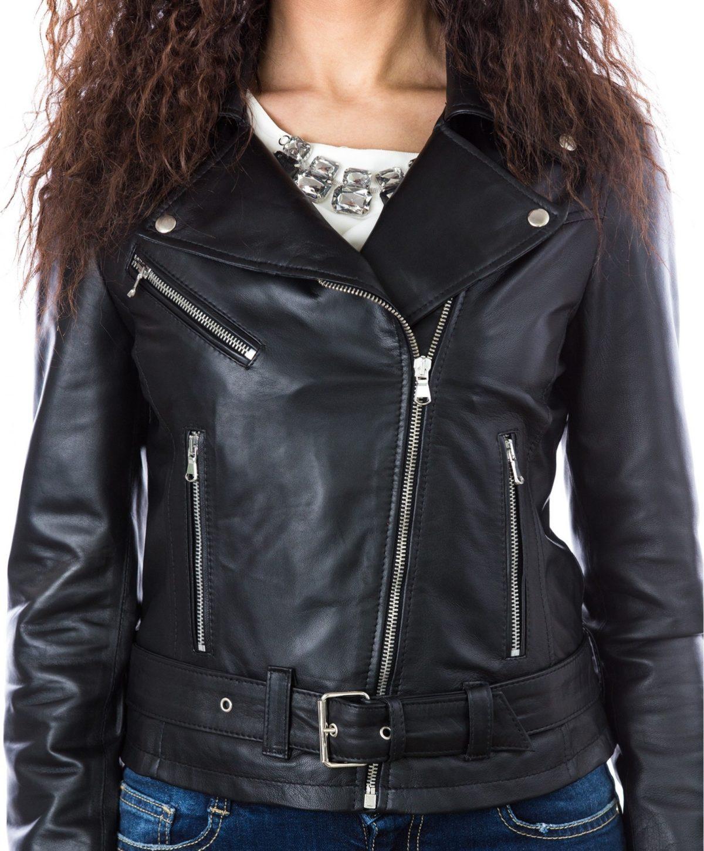 giacca-in-pelle-da-donna-modello-chiodo-biker-con-cintura-e-zip-trasversale-nero-sandy (1)