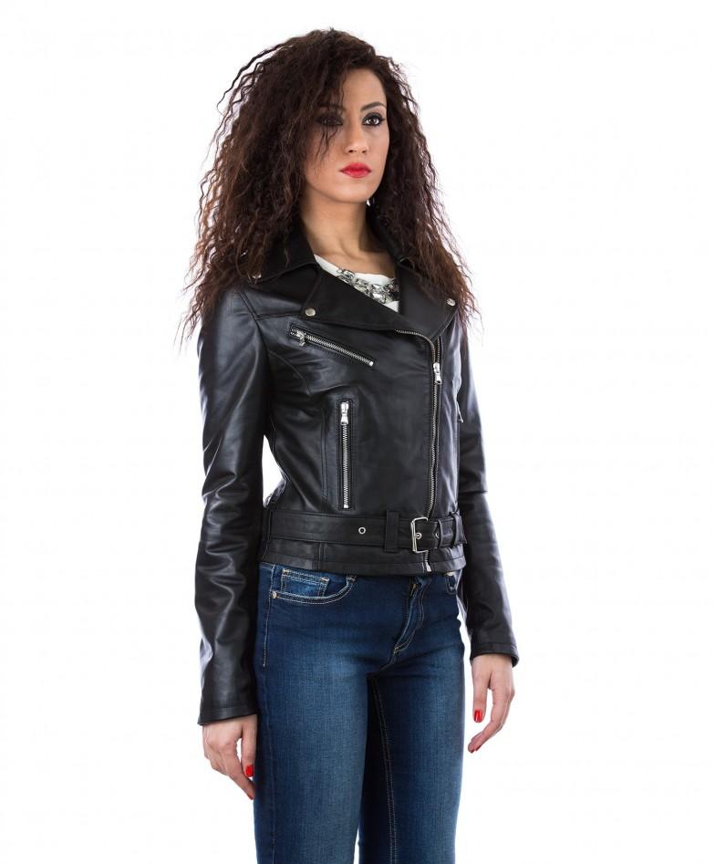 giacca-in-pelle-da-donna-modello-chiodo-biker-con-cintura-e-zip-trasversale-nero-sandy (2)