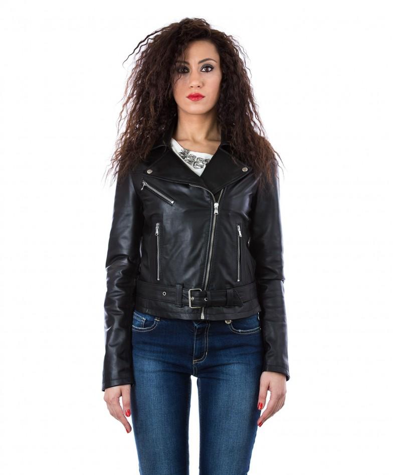 giacca-in-pelle-da-donna-modello-chiodo-biker-con-cintura-e-zip-trasversale-nero-sandy