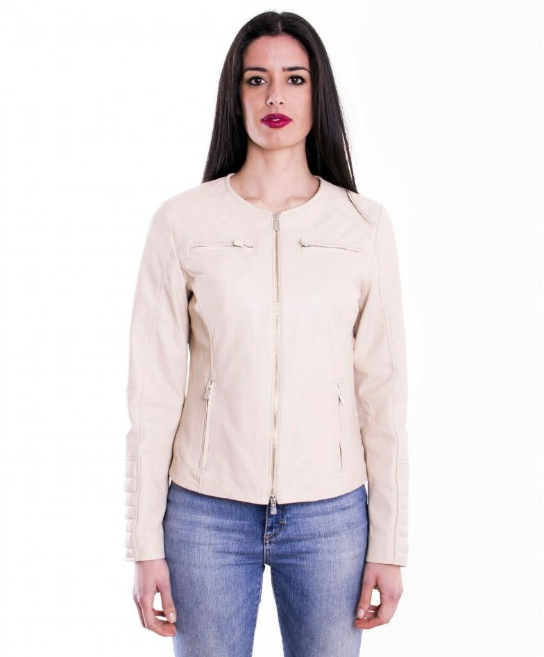 giacca-in-pelle-da-donna-modello-chiodo-biker-trapuntata-e-girocolloblu-m890