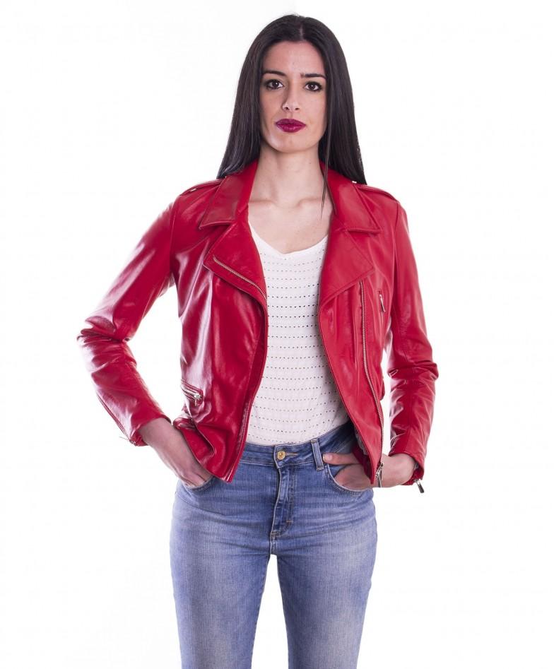 giacca-in-pelle-da-donna-modello-chiodo-biker-zip-trasversale-rosso-barbara (2)