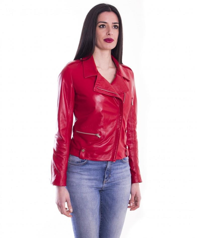 giacca-in-pelle-da-donna-modello-chiodo-biker-zip-trasversale-rosso-barbara (4)