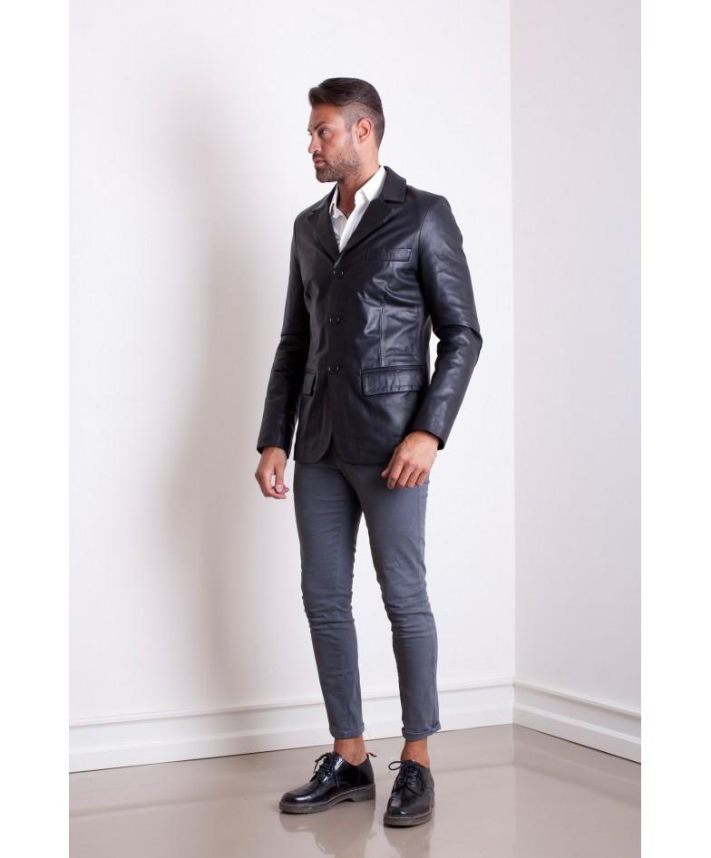 giacca-in-pelle-da-uomo-vera-pelle-di-agnello-nappa-modello-blazer-collo-giacca-colore-nero-modorlando (3)