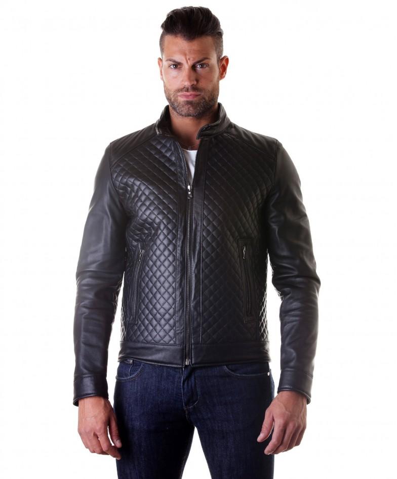 giacca-in-pelle-da-uomo-vera-pelle-nappa-modello-biker-collo-mao-trapuntato-colore-nero-modemiliany-rombi