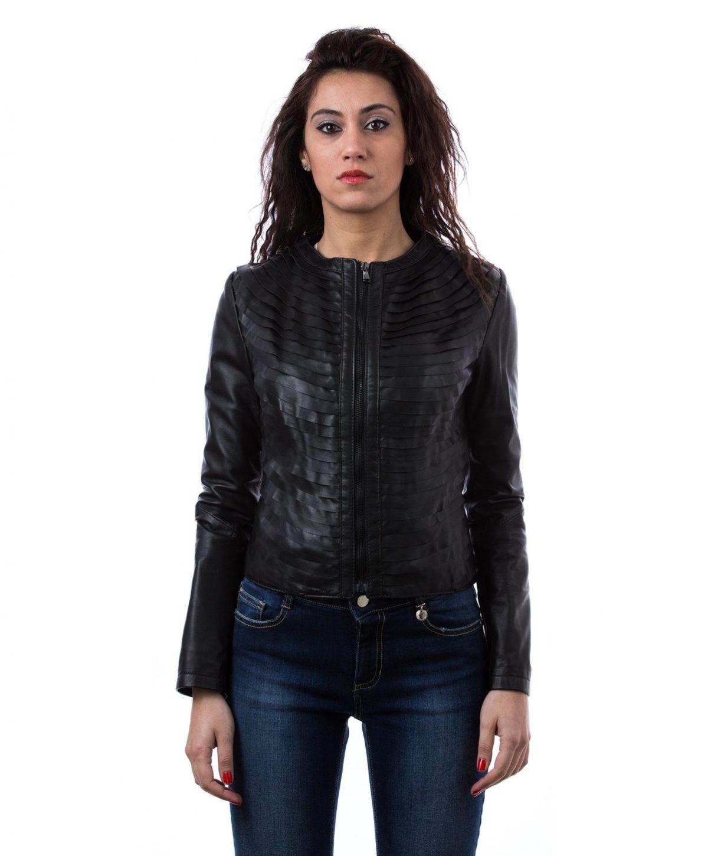 giacca-in-pelle-donna-con-balze-con-zip-centrale-e-girocollo-nero-click