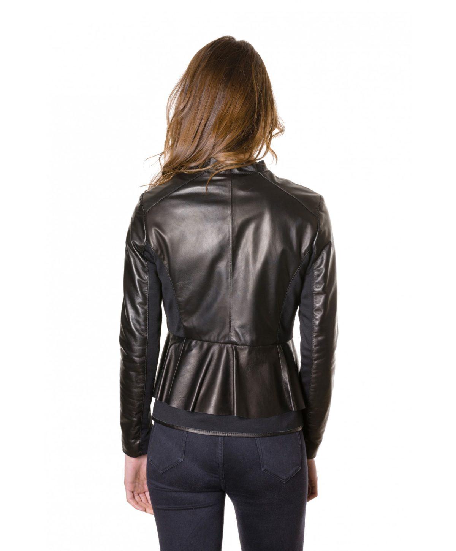 giacca-in-pelle-donna-con-balze-modello-chiodo-biker-con-zip-trasversale-colore-nero-clips- (2)